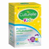 Culturelle Kids Propbiotic & Multivitamin Fruit Punch Flavor Chewable Tablets