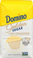 Domino Less Processed Golden Granulated Sugar