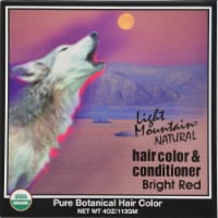 Light Mountain Natural Hair Color Cond Bright Red