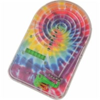 US Toy 4536 4 Piece Tie Dye Pinball Games - Pack of 4 - 4