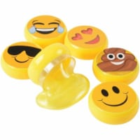 US Toy 4542 Emoticon Slime Toy - Pack of 12 - 1