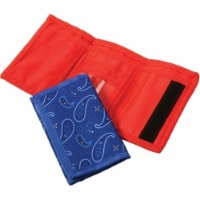 US Toy 4611 Bandana Wallets for Kids - Pack of 12 - 1