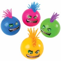 US Toy 4478 Flashing Mohawk Balls - Pack of 12