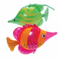 US Toy Company HL77 Tropical Fish Inflates - Pack of 12