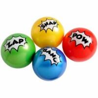 US Toy GS844 Superhero Pvc Balls - Pack of 12