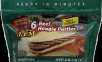 J.T.M. Beef Hoagie Patties