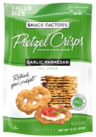 Snack Factory Garlic Parmesan Pretzel Crisps Value Size