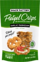 Snack Factory Pretzel Crisps Garlic Parmesan Deli Style Crackers