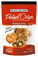 Snack Factory Pretzel Crisps Buffalo Wing Deli Style Crackers