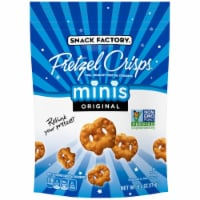 Snack Factory Minis Original Pretzel Crisps, 6.2 Ounce -- 12 per case - 12-6.2 OUNCE