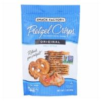 Pretzel Crisp Pretzel Crisps - Original - Case of 12 - 7.2 oz.