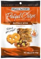 Pretzel Crisps Buffalo Wing Pretzel Crackers Case
