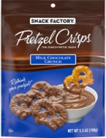 Snack Factory Milk Chocolate Crunch Pretzel Crisps