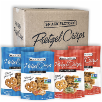 Snack Factory Original & Everything Pretzel Crisps