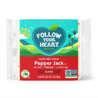 Follow Your Heart Dairy-Free Pepper Jack Cheese Alternative Slices