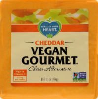 Follow Your Heart Vegan Gourmet Cheddar Cheese Alternative