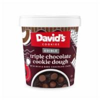 David's Edible Triple Chocolate Cookie Dough - 12 oz