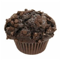 Davids Cookies Chocolate with Chocolate Chip Muffin, 6 Ounce -- 12 per case.