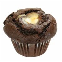 Davids Cookies Chocolate and Cream Cheese Muffin, 6 Ounce -- 12 per case.