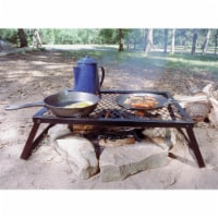 Texsport Heavy Duty 36 x 18 Steel Outdoor Open Flame Portable Campfire Grill - 1 Piece