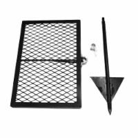 Texsport Heavy Duty 24 x 16 Steel Adjustable Outdoor Open Flame Swivel Grill - 1 Piece