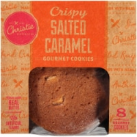 Christie Cookie Co. Crispy Salted Caramel Gourmet Cookies - 8 ct