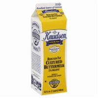 Knudson 2% Milkfat Buttermilk - 32 Fl Oz
