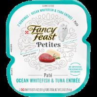 Fancy Feast® Petites Ocean Whitefish & Tuna Entree Pate Gourmet Wet Cat Food - 2 ct / 1.4 oz