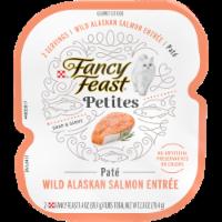 Fancy Feast® Petites Wild Alaskan Salmon Entree Pate Gourmet Wet Cat Food - 2 ct / 1.4 oz