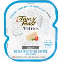 Fancy Feast® Petites Ocean Whitefish Entree Wet Cat Food - 2.8 oz