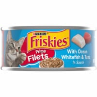 Friskies Prime Filets with Ocean Whitefish & Tuna in Sauce Wet Cat Food