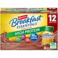 Carnation Breakfast Essentials Chocolate High Protein Complete Nutritional Drink