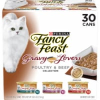 Fancy Feast Gravy Lovers Poultry & Beef Wet Cat Food Variety Pack