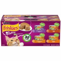 Friskies Poultry Pate Favorites Wet Cat Food Variety Pack