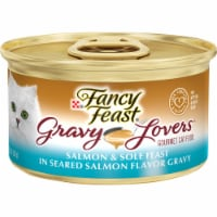 Fancy Feast Gravy Lovers Salmon & Sole Feast in Seared Salmon Gravy Wet Cat Food