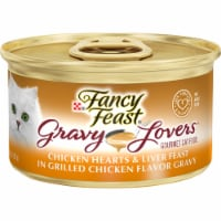 Fancy Feast Gravy Lovers Chicken Hearts & Liver Feast in Grilled Chicken Gravy Wet Cat Food