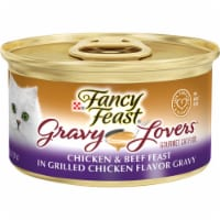 Fancy Feast Gravy Lovers Chicken and Beef Wet Cat Food