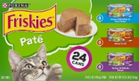 Friskies Pate Adult Wet Cat Food Variety Pack