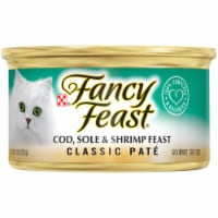 Fancy Feast Classic Pate Cod Sole & Shrimp Feast Wet Cat Food
