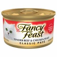 Purina Fancy Feast Classic Pate Tender Beef & Chicken Feast Wet Cat Food