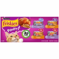 Friskies Poultry Wet Cat Food Variety Pack