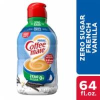 Coffee-mate Sugar Free French Vanilla Liquid Coffee Creamer