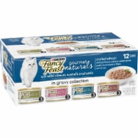Fancy Feast Gourmet Naturals in Gravy Collection Wet Cat Food Variety Pack