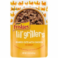 Friskies® Lil' Grillers Seared Cuts with Chicken in Gravy Adult Wet Cat Food Complement - 1.55 oz
