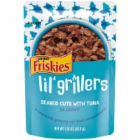 Friskies Lil Grillers Seared Cuts with Tuna In Gravy Cat Food Complement - 1.55 oz
