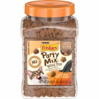 Friskies Party Mix Pumpkin Natural Yums Cat Treats