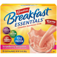 Carnation Breakfast Essentials Strawberry Sensation Drink Mix