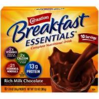 Carnation Breakfast Essentials Chocolate Milk Powder Drink Mix