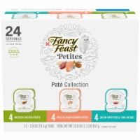 Fancy Feast Petites Pate Collection Gourmet Cat Food - 12 ct / 2.8 oz