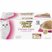 Fancy Feast Classic Chicken Feast Collection Wet Cat Food 12 Count